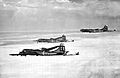 91st Air Refueling Squadron KB-29P Superfortress formation 1951.jpg