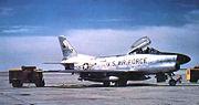 94th Fighter-Interceptor Squadron North American F-86D-60-NA Sabre 53-892