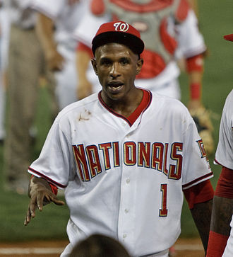 Nyjer Morgan - Morgan with the Washington Nationals in 2009