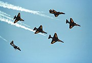 A-4Fs Blue Angels Fleur de Lis 1984