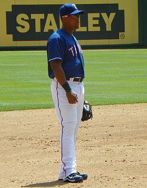 2011 Texas Rangers season - Gold glove third baseman Adrián Beltré