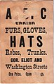 A. B. Currier, fur gloves, hats, robes, trunks, cor. Eliot and Washington Streets (trading card b).jpg