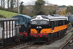 CIE 001 Class - A39r at Downpatrick