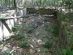 AACA Concentrate Bin Ruins VA NPS