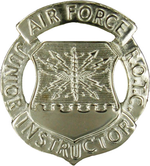 US Air Force Junior Reserve Officer Training Corps Instructor Badge