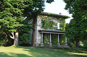 National Register of Historic Places listings in Livingston County, New York - Image: ALVERSON COPELAND HOUSE, LIVINGSTON COUNTY, NY