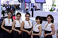 AMD promotional model at Computex 20130607a.jpg