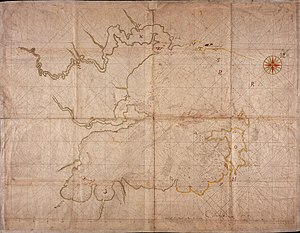 Algoa Bay - Late 17th century map of Algoa Bay.