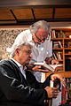 AMLO y Carlos Payán intercambian opiniones sobre literatura (8388409664).jpg