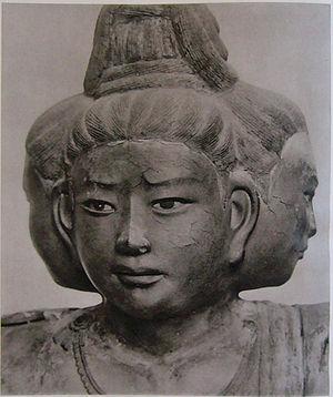 Asura (Buddhism) - Asura in Kōfuku-ji, Nara, 734, Japanese.