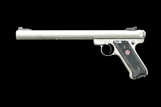 Ruger MK II - Title II AWC TM-Amphibian 'S' integrally-suppressed variant used by U.S. Navy SEALs