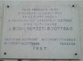 A Budai Nemzeti Bizottság emléktáblája, Budapest, XI., Karinthy Frigyes út 1..png