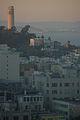 A Warm Sunset - Coit Tower - San Fran.JPG