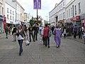 A bustling scene, Cheltenham - geograph.org.uk - 1468782.jpg