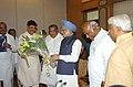 A delegation from Karnataka Pradesh Congress Committee led by the President, KPCC, Shri Mallikarjun Kharge calling on the Prime Minister, Dr. Manmohan Singh, in New Delhi on June 16, 2007.jpg