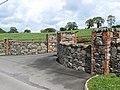 A fine set of garden walls and gate pillars - geograph.org.uk - 2450316.jpg