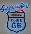 A neon sign along 5th Street in Amarillo, Texas, where a piece of historic U.S. Route 66 still runs through town LCCN2014633759.tif