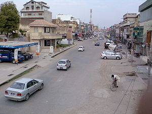 A view of Railway Road, Jhelum.jpg