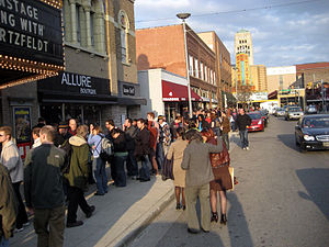 Don Hertzfeldt - A line around the block for An Evening with Don Hertzfeldt