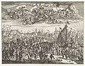 Aankomst van koning Karel II van Engeland te Delft, 1660, RP-P-OB-81.883.jpg