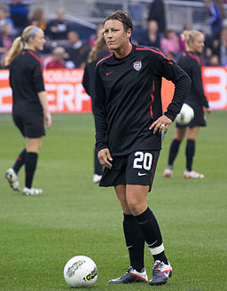 Abby Wambach USA vs Can Sep17