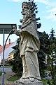 Abda, Nepomuki Szent János-szobor 2021 07.jpg