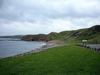 New Aberdour - Aberdour Bay, north of New Aberdour, looking east