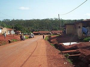 Abong-Mbang - Image: Abong Mbang from Quartier Haussa