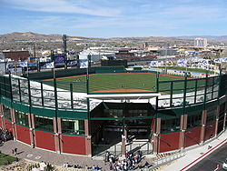 Aces Ballpark from garage.jpg