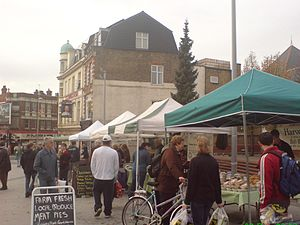 Acton, London - Pilot of Acton Farmers' Market, December 2006