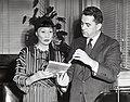 Actress Anna May Wong and Deputy Mayor John McMorrow (13243482885).jpg