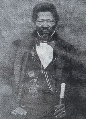 Khoikhoi - Adam Kok, leader of the Griqua nation