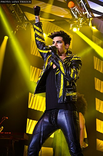 Adam Lambert - Lambert performing on tour in Kiev, Ukraine March 2013