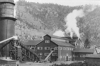 Chase, British Columbia - Adams River Lumber mill, 1919