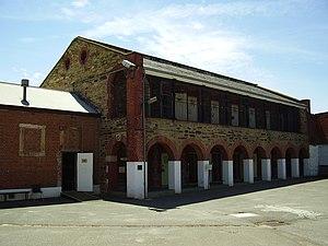 Adelaide Gaol - Adelaide Gaol Yard 4 cell block