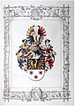 Adelsdiplom - Bastl von Bastlingen 1907 - Wappen.jpg