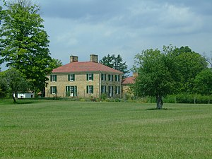 National Register of Historic Places listings in Ross County, Ohio - Image: Adena Mansion