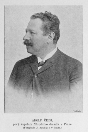 Adolf Čech - Image: Adolf Cech 1897 Mulac