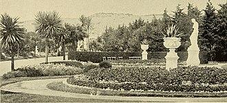 Sutro Heights Park - Sutro Heights gardens (1895).