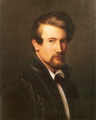 Adolph Tidemand - Self-portrait (1838)