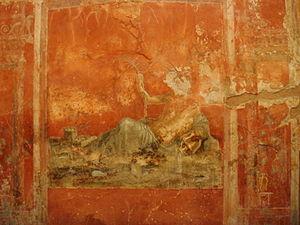 Sarno (river) - Personification of Sarno in Pompei