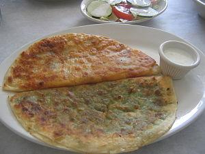 Pashtun cuisine - Bolani
