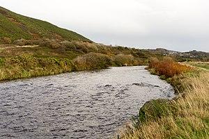 River Ystwyth - River Ystwyth near Trawsgoed