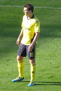 Nicolaj Agger Danish football player