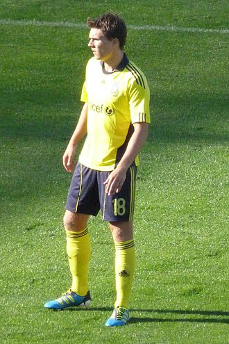 Nicolaj Agger - Agger playing for Brøndby in 2011