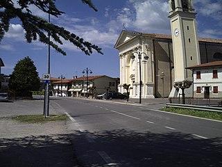 Agna Comune in Veneto, Italy