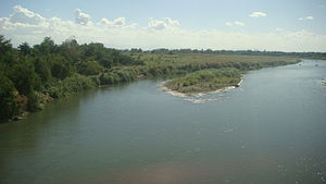 Agno River - Agno River (view from Rosales, Pangasinan bridge)