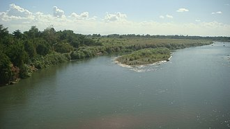 Agno River - Agno River (view from Rosales, Pangasinan bridge)