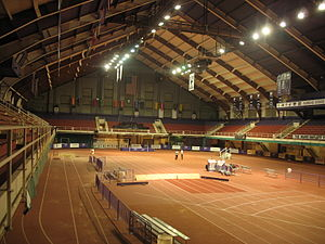Ahearn Field House - Image: Ahearn Complex Inside