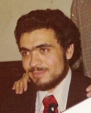 Ahmed Khadr - Khadr at his Toronto wedding.